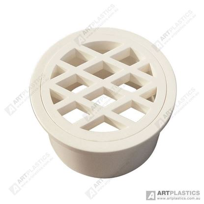 Picture of GRATE ROUND PVC (80MM WHITE)